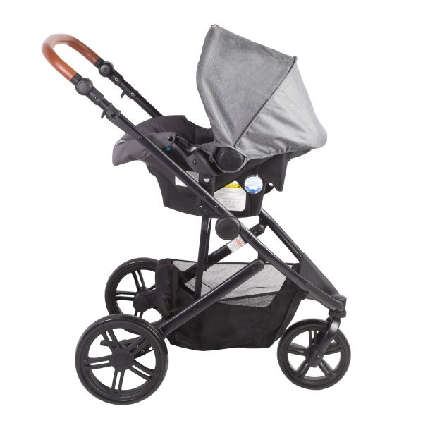 Coche Travel System Trek - Gris