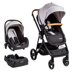 Coche Travel System Cosmos - Gris