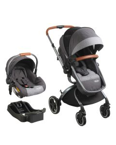Coche Travel System Deluxe 360° - Gris