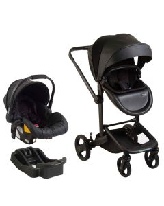 Coche Travel System QUAD - Negro